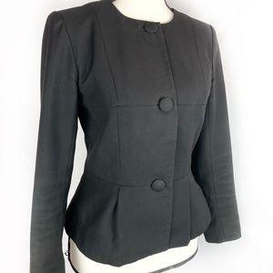 H&M Black 3 Button Fitted Blazer